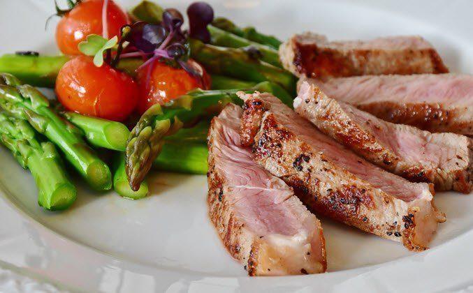 keto diet lamb salad